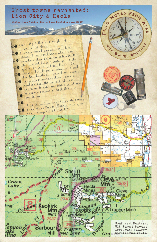 Ghost Towns Revisited: Lion City & Hecla Page 1