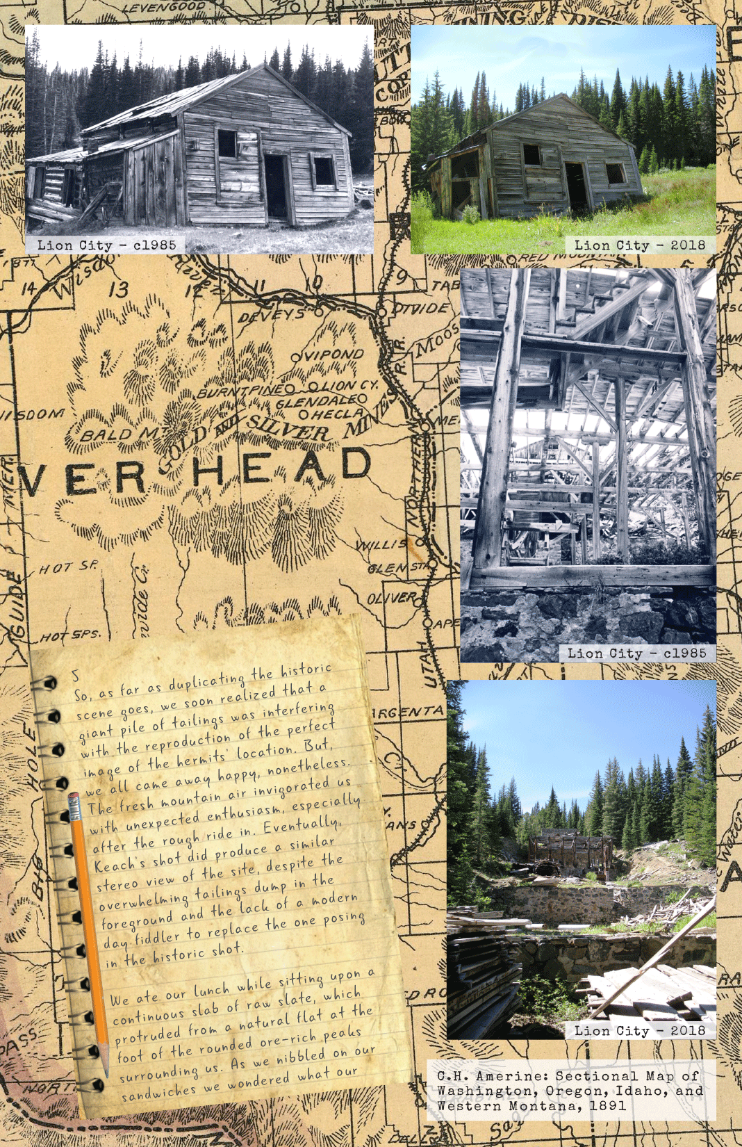 Ghost Towns Revisited: Lion City & Hecla Page 6