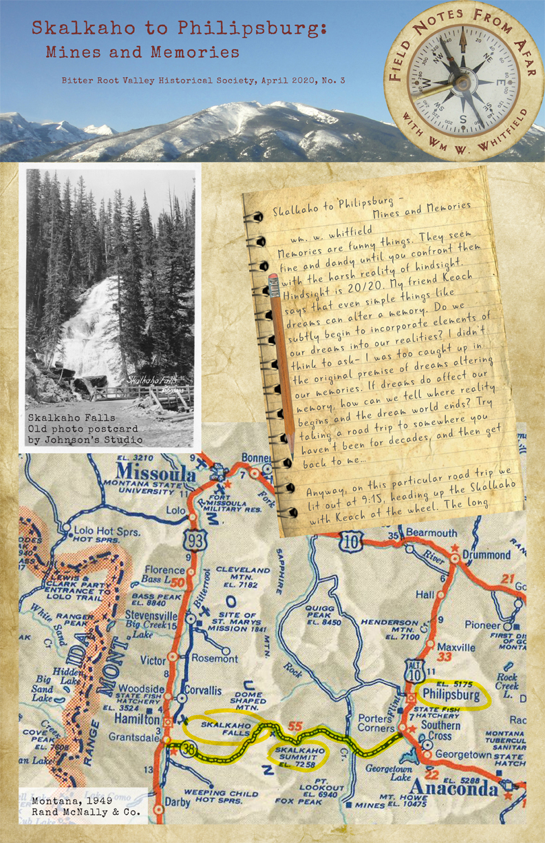 Skalkaho to Philipsburg: Mines and Memories Page 1