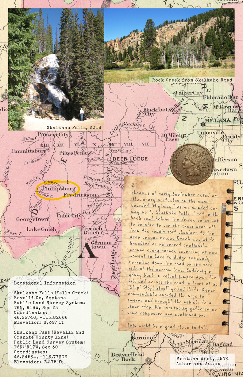Skalkaho to Philipsburg: Mines and Memories Page 2